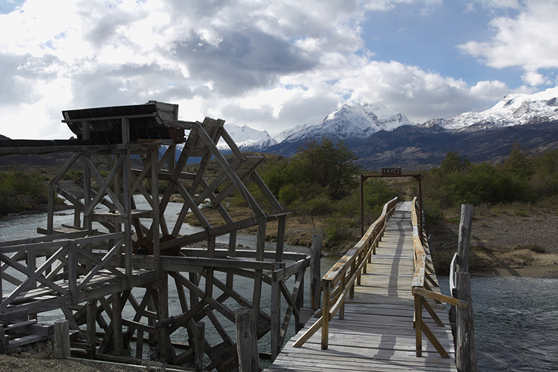 Bridge Estancia Cristina Argentina Llama Travel