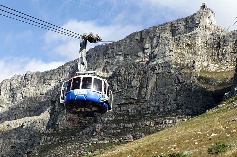 Cable car Cape Town South Africa