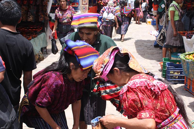Chichicastenango Market Guatemala Scott Llama Travel