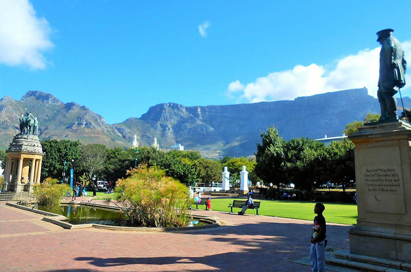 Company Gardens Cape Town South Africa
