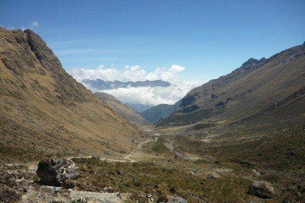 Day 2 Valley shot Salkantay Trail Peru Llama Travel
