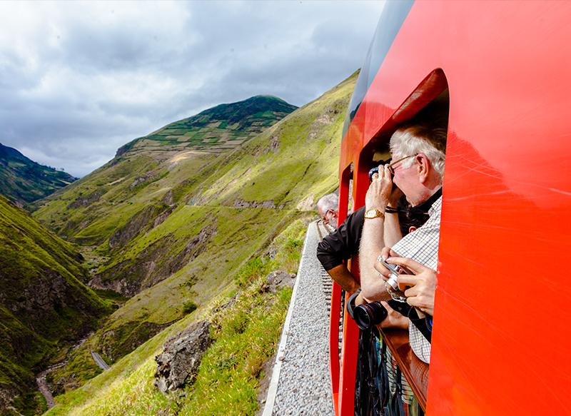 Ecuador train Llama Travel 2