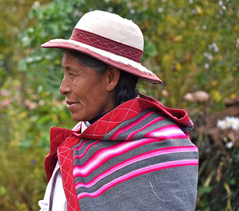 Faces of Misminay Peru Llama Travel