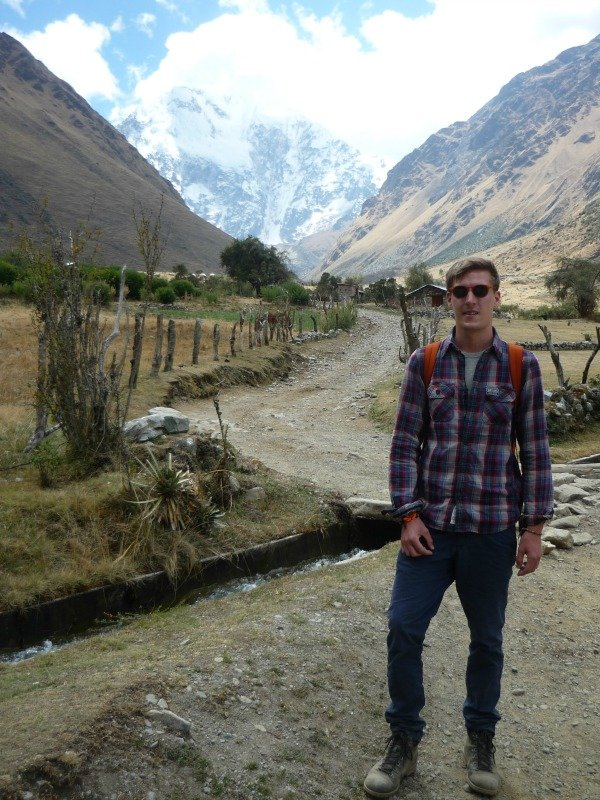 Graham walking boots Salkantay Trek Peru Llama Travel