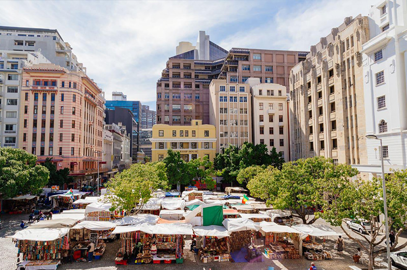 Green market Cape Town South Africa