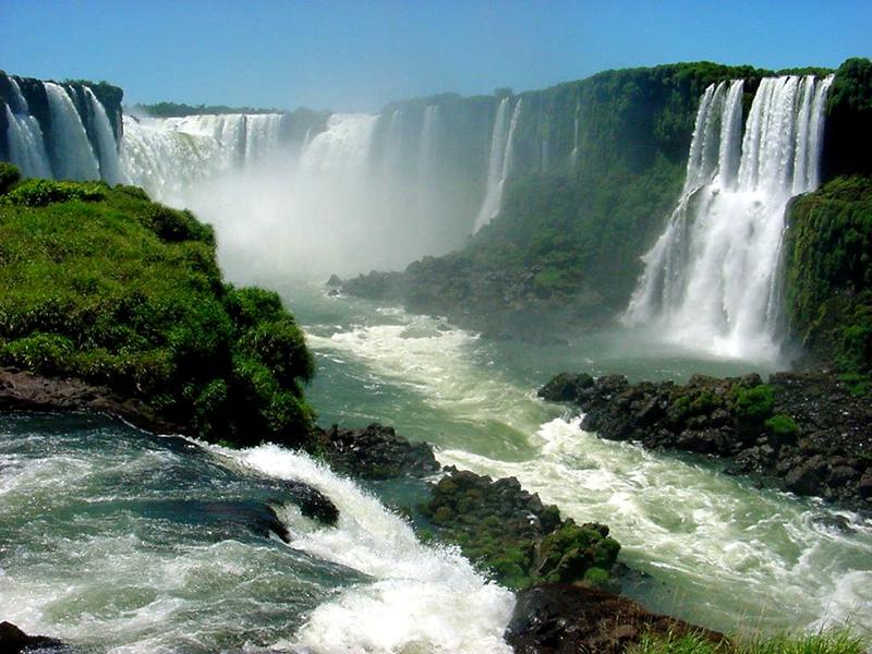 Iguazu Falls Brazil Argentina Llama Travel