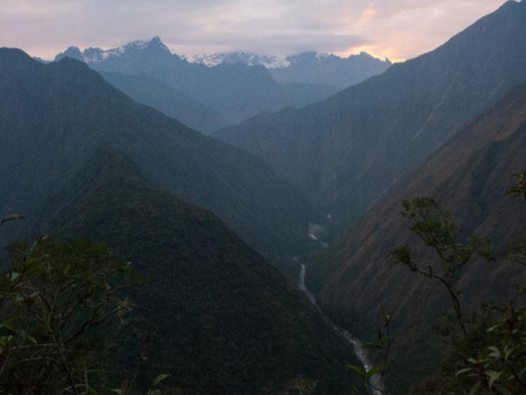Inca trail final day