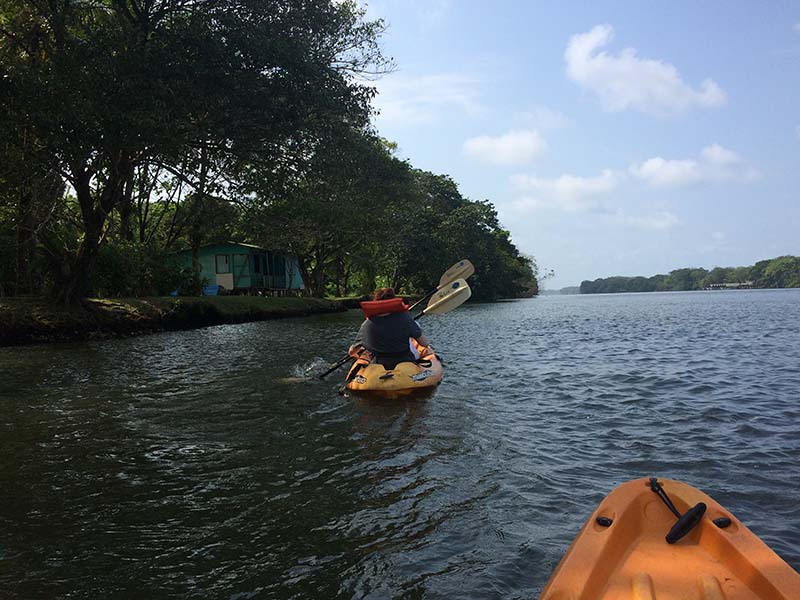 Kayaking Tortuguero Costa Rica