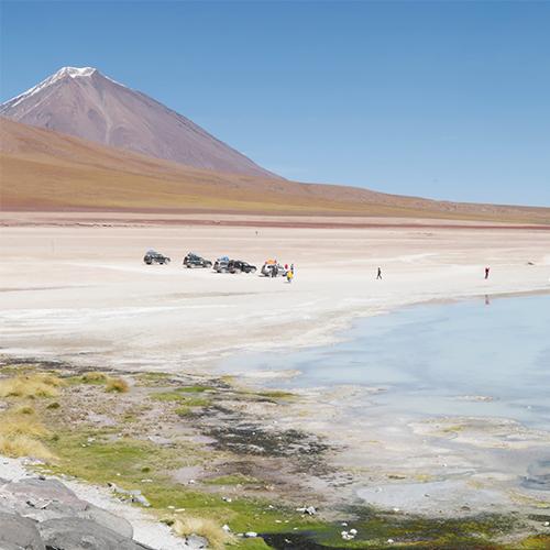Laguna Blanca Bolivia overland