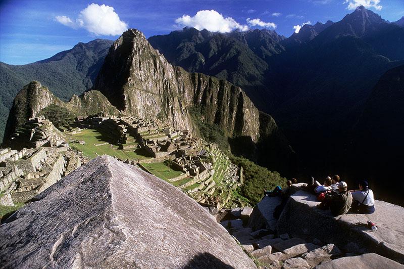 Machu Picchu Peru Llama Travel