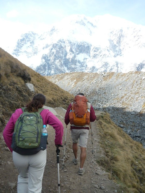 Pack light Salkantay trek Peru Llama Travel