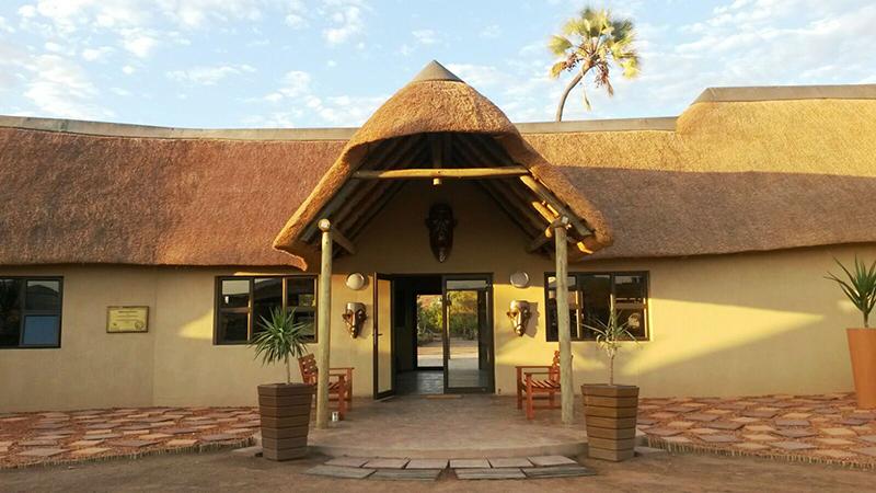 Palmwag Lodge Reception