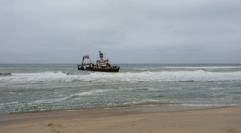 Photo 6 Skeleton Coast Shipwreck Namibia holidays Llama Travel