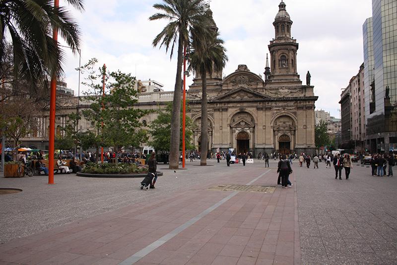 Plaza de Armas Santiago Chile Llama Travel