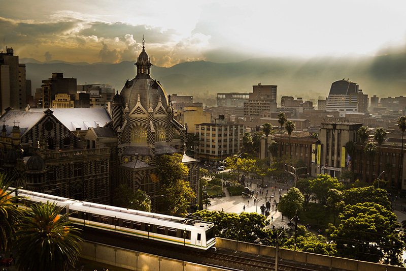 Plaza de Botero Medellin Colombia Llama Travel