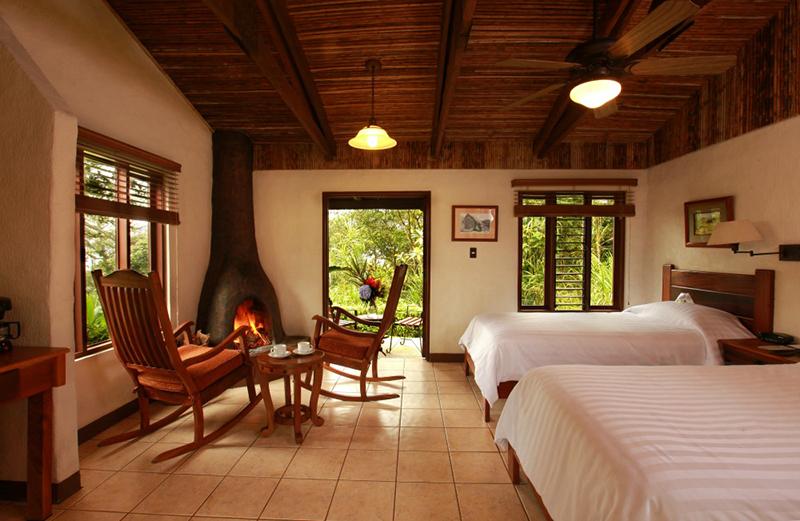 Room Villa Blanca Cloud Forest Lodge Costa Rica Llama Travel