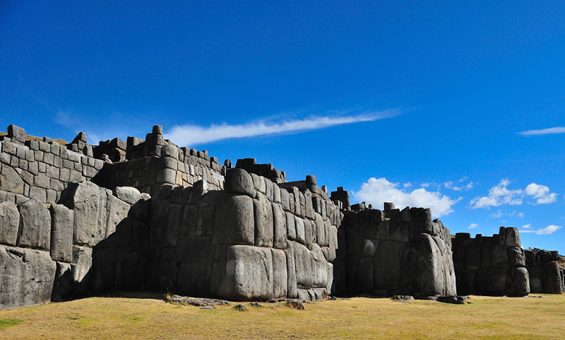 Sacsayhuaman Cusco Peru Llama Travel