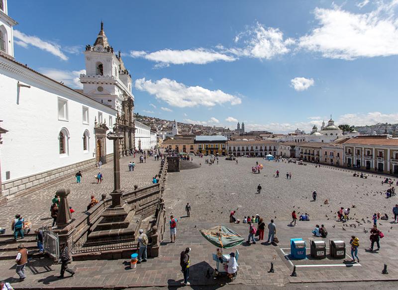 San Francisco Plaza Quito