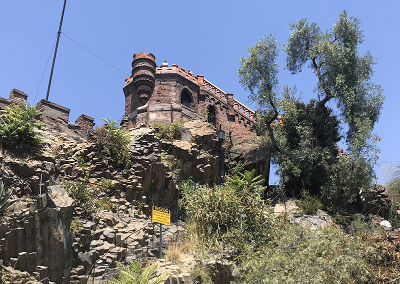 Santa Lucía Hill Santiago Chile Llama Travel
