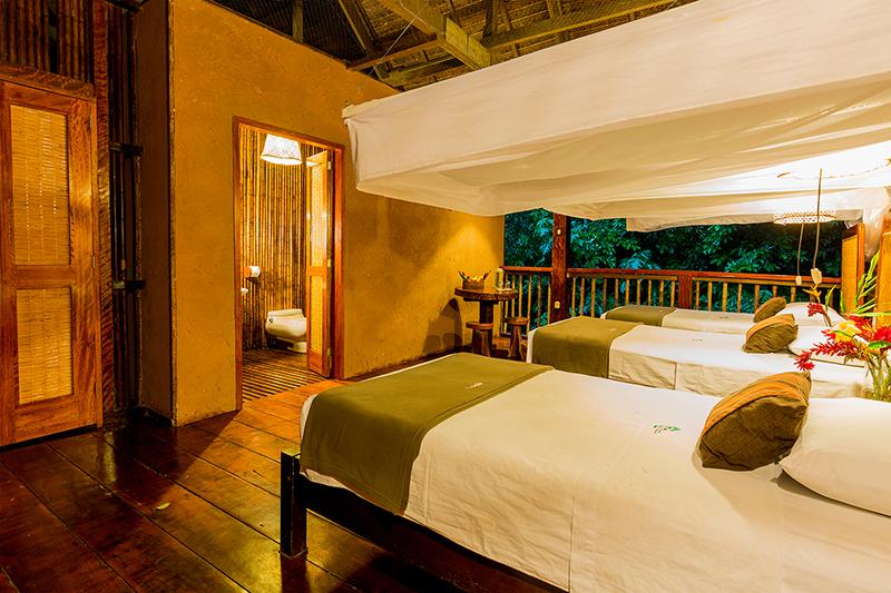 Superior room Posada Amazonas Jungle Peru