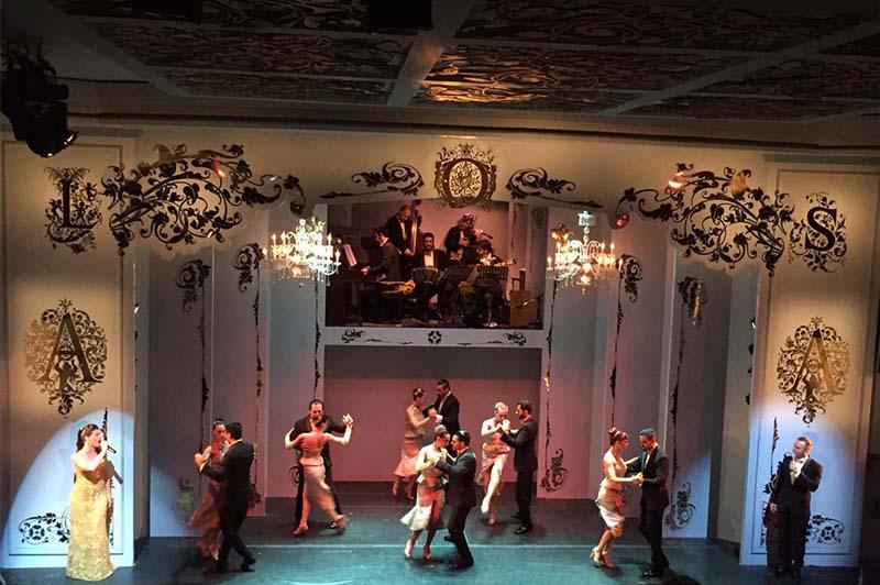 Tango show Buenos Aires Argentina Llama Travel
