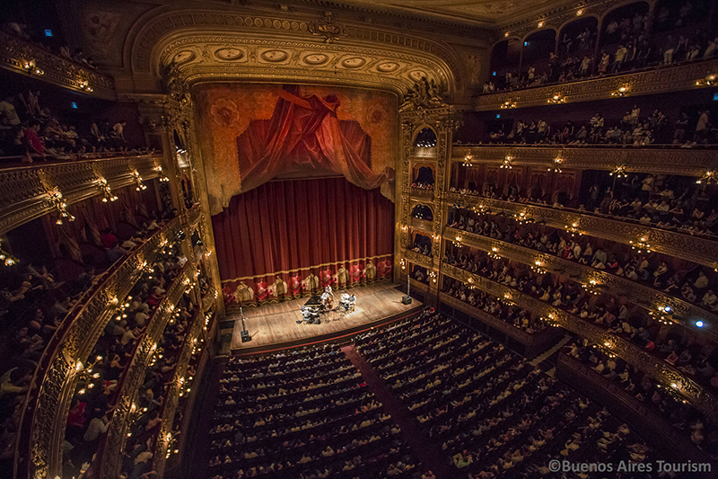 Teatro Colon Buenos Aires Argentina Llama Travel