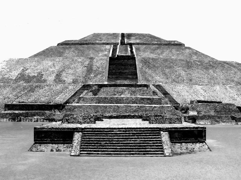 Teotihuacan Mexico City Llama Travel