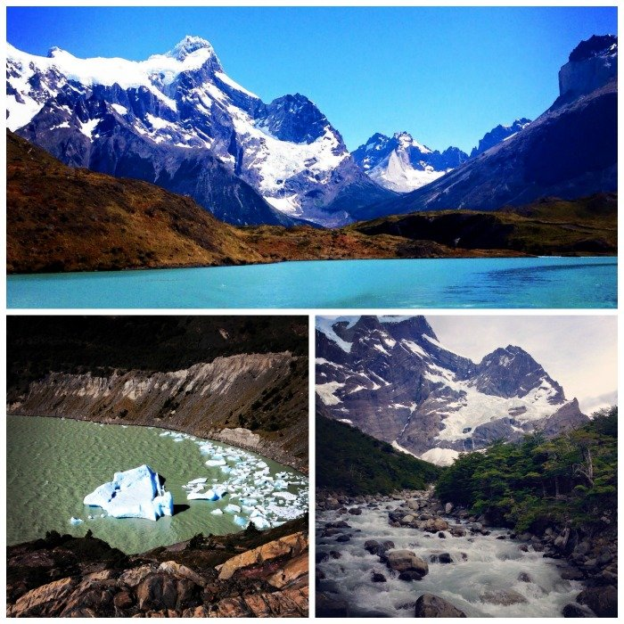 Torres del Paine Chile Llama Travel collage