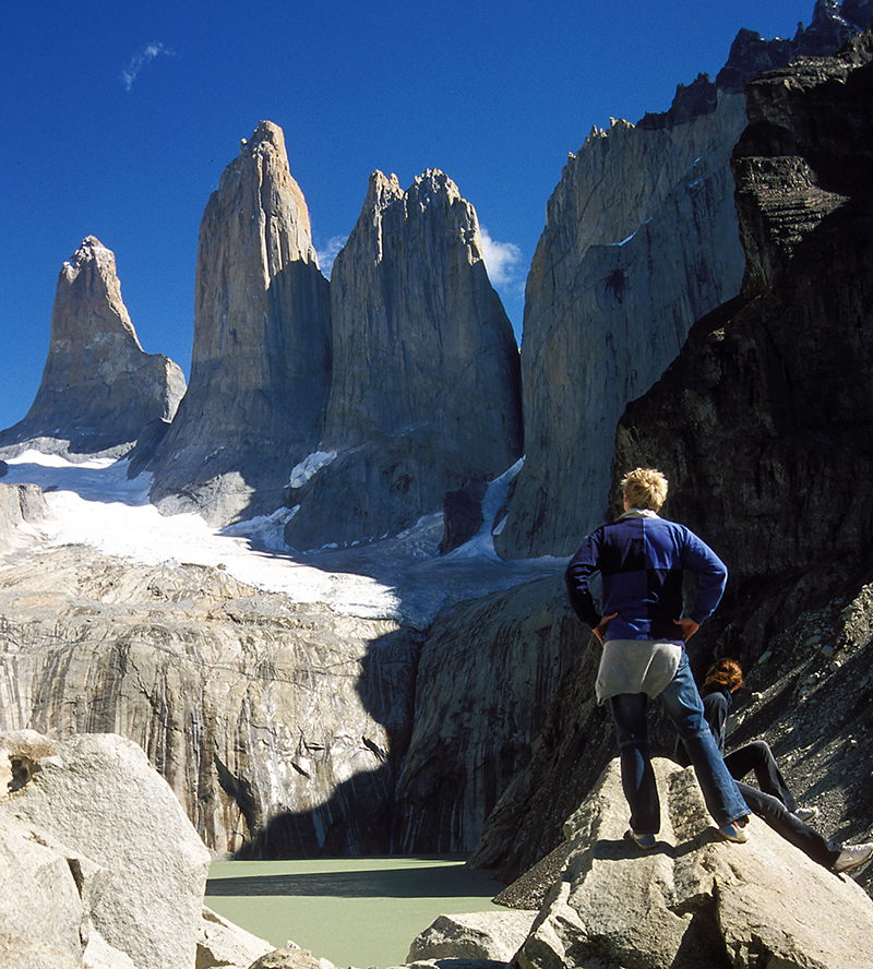 Torres del Paine trek in good weather Llama Travel