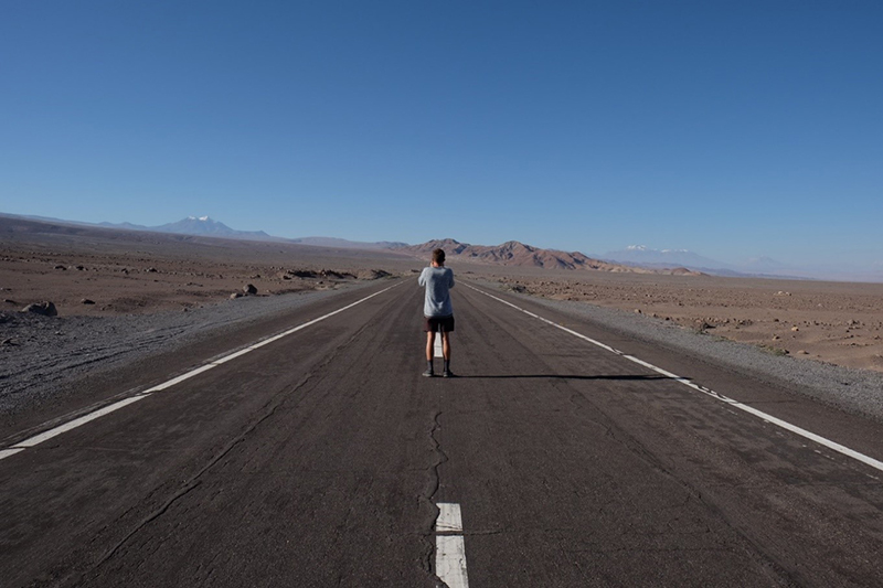 Tropic of Capricorn Atacama Desert Chile