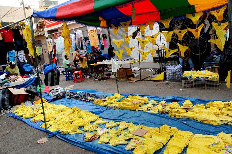 Yellow underwear New Year Llama Travel