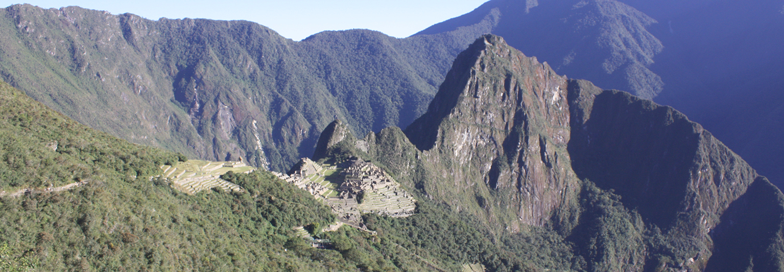 Take the train or hike the Inca Trail to Machu Picchu