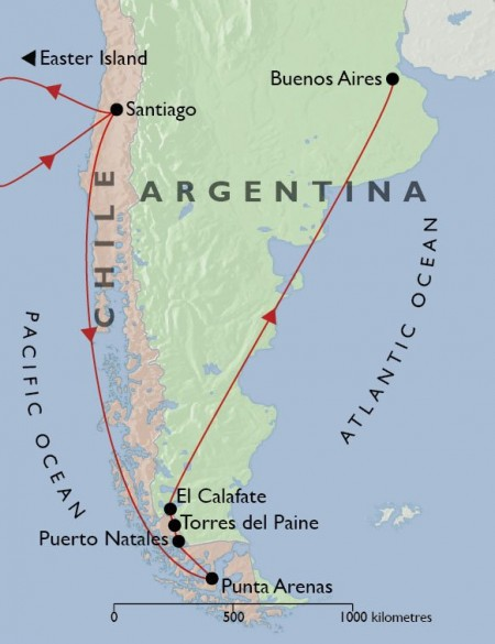 Best of Argentina and Chile plus Easter Island