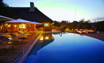 Swimming pool, Kapama River Lodge, Kruger