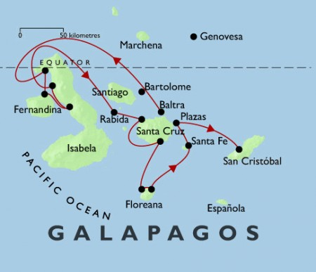 Galapagos La Pinta 7 and 5-night
