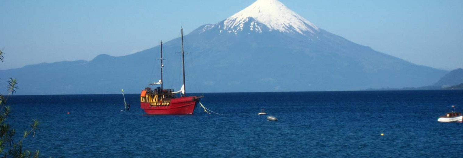 Osorno Volcano, Lake District, Chile