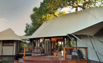 Exterior, Hamiltons Tented Camp, Kruger