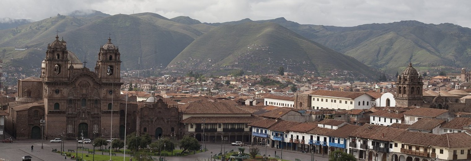 Cusco, main plaza