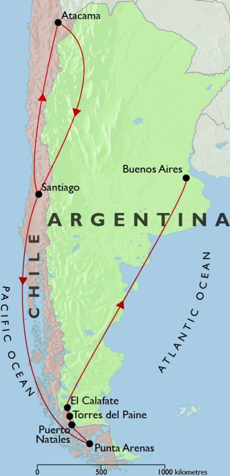 Best Of Argentina Chile Atacama Desert - Argentina chile map