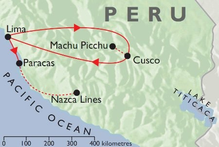 Incas & Conquistadors  + Pacific Coast map