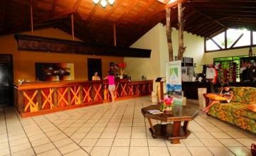 Reception, Hotel Arenal Manoa, Arenal