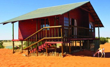 Exterior, Bagatelle Kalahari Game Ranch, Namibia