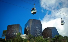 Medellin's Metrocable, Colombia