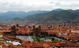 Historic main square, Cusco