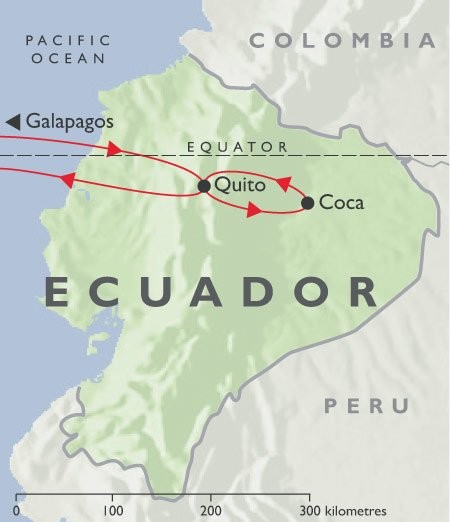 Galapagos - Quito - Jungle