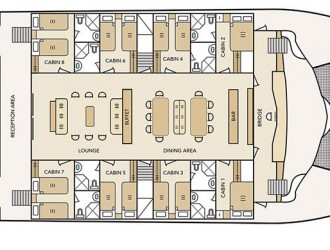 Deck plan 2, Archipel 1