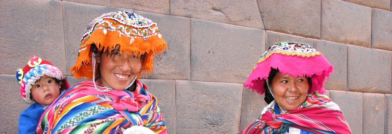 Traditional women, Cusco, Peru