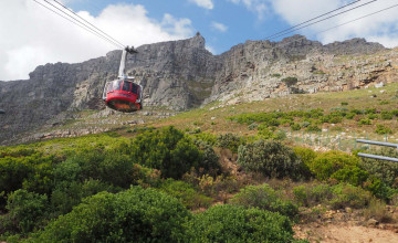 Cable car, Cape Town, South Africa