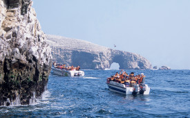 Boat excursion, Ballestas Islands, Peru