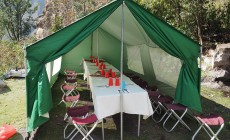 Dining tent, Inca Trail